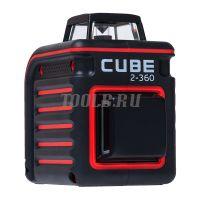 Лазерный построитель плоскостей на 360 градусов ADA CUBE 2-360 ULTIMATE EDITION - купить в интернет-магазине www.toolb.ru цена и обзор