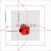 ADA TOPLINER 3x360 - Лазерный нивелир - купить в интернет-магазине www.toolb.ru цена, обзор, характеристики, фото, заказ, онлайн, производитель, официальный, сайт, поверка, отзывы