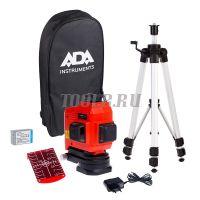 ADA TOPLINER 3x360 SET - Лазерный нивелир - купить в интернет-магазине www.toolb.ru цена, обзор, характеристики, фото, заказ, онлайн, производитель, официальный, сайт, поверка, отзывы