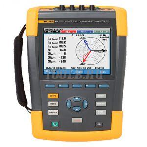 Fluke 437 II/BASIC - анализатор качества электроэнергии